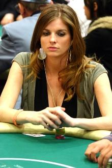 Trishelle Cannatella al tavolo...