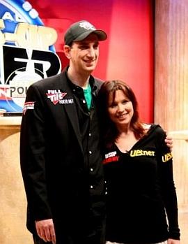 Erik Seidel e Annie Duke, rispettivamente runner up e vincitrice dello scorso anno