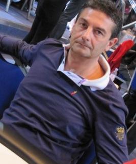 Antonio Buonanno, chipleader azzurro al day 1a