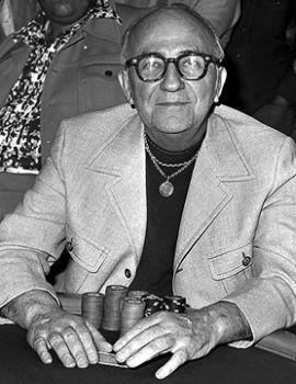 Johnny Moss, il primo vincitore delle WSOP nel 1970