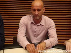 Il   calciatore Emiliano Salvetti, tra i chipleaders