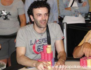 Sergio Castelluccio, secondo in chips