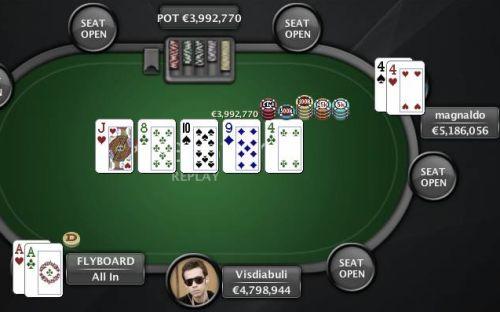 Dragon quest 9 split-pot poker