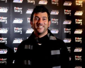 Enrico 'RastaBaby79' Castaldi, vincitore del braccialetto heads up