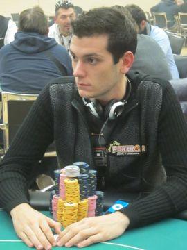 Alessandro Chiarato è in seconda posizione