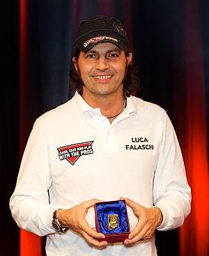 Luca Falaschi, vincitore del Best eight 2010 e sponsorizzato per tutta la stagione PGP 2011
