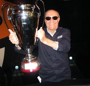 Arnaldo Petino, esultante per la vittoria