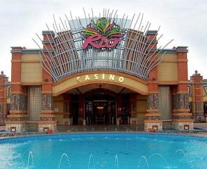Una entrata del Rio Casinò di Las Vegas