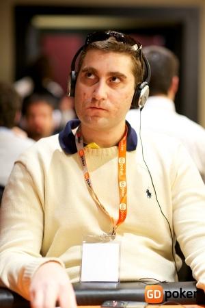 Lorenzo durante un recente Poker Grand Prix (foto GDPoker)