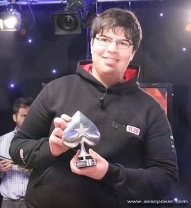 Mustapha Kanit mostra la picca: è lui il campione a Nova Gorica!
