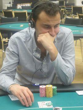 Vittorio Fiume ha uno stack di 41.200 fiches