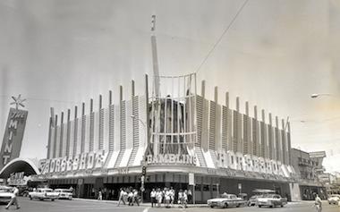 Un'immagine del Binion's Horseshoe negli anni '70