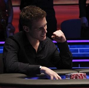 La grinta di Mike Mcdonald nella mano vincente