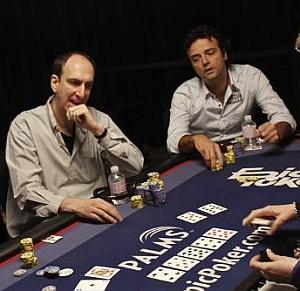 Erik Seidel con Fabrice Soulier al tavolo
