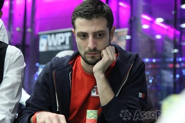 Andrea 'datino' Dato: è lui il primo chipleader di giornata al WPT Venezia