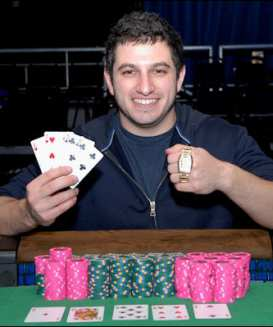 Phil Galfond nel 2008, quando vinse alle WSOP