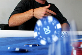 Heads up poker who is big blind