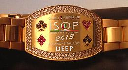 Un dettaglio dei nuovi braccialetti ISOP