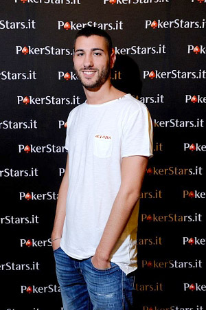Dario Sammartino (photo Manuel Kovsca, PokerStars)