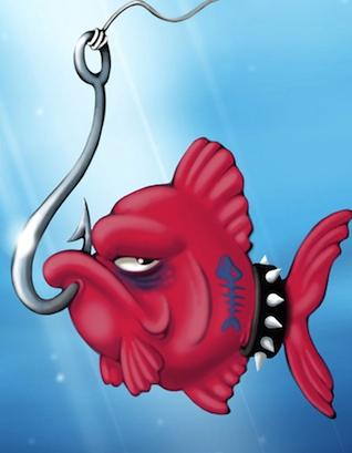L'avatar di ZenFish: molto fish, poco zen.
