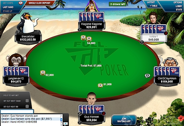 Poker 2-7 triple draw reglas