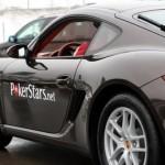 La Porsche con il brand PokerStars
