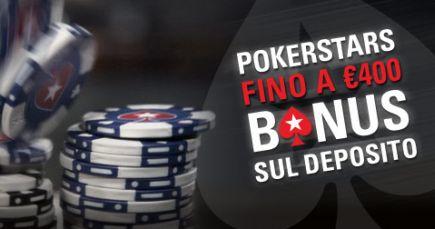 Codice bonus pokerstars non primo deposito
