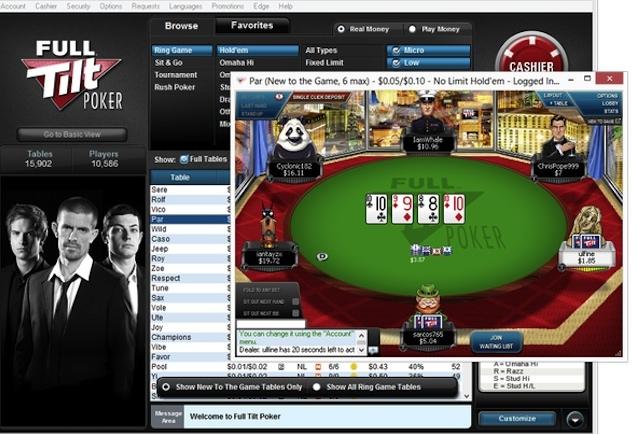 full tilt poker forum