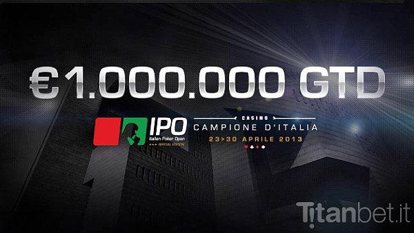 Ipo poker live stream