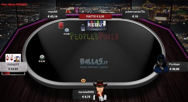 Notebook per grindare poker