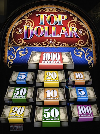top dollar slot machine online