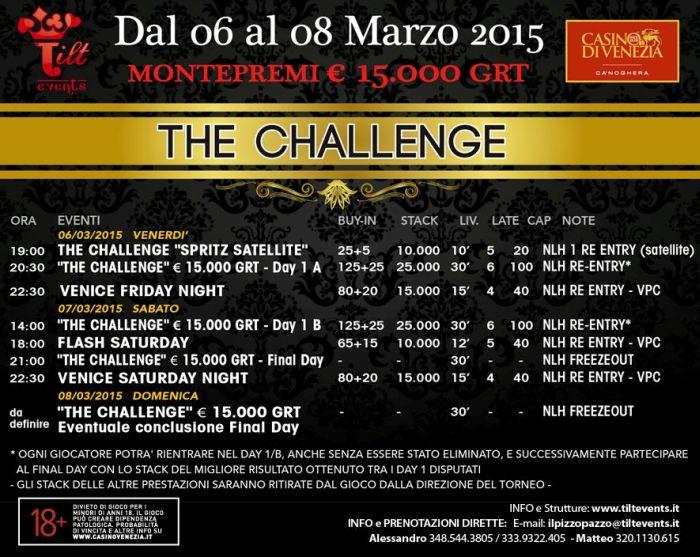 Torneo poker casino venezia