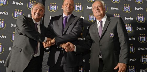 Press conference of RSC Anderlecht