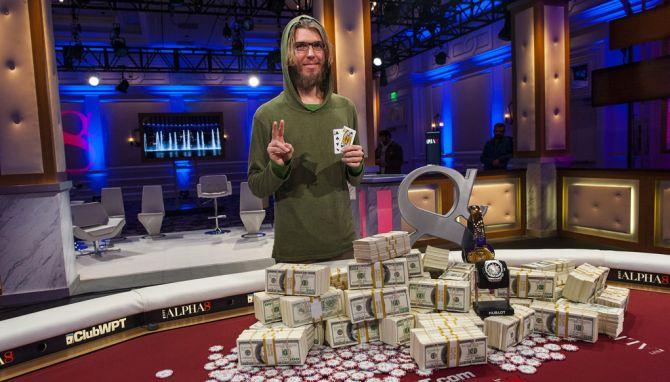Andrew dopo la vittoria del prestigioso high roller Alpha8 di Las Vegas