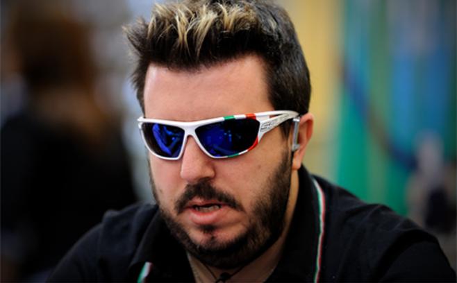 Max Pescatori, short ma presente al day 2 del Dealers Choice Championship