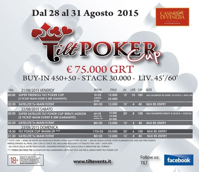 tilt-poker-cup-programma