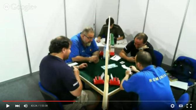 Uno screenshot di una partita della coppia Fantoni-Nunes, in maglia blu scura