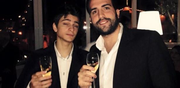 Enrico Camosci, qua con Gianluca Escobar