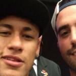Gateano Preite e Neymar