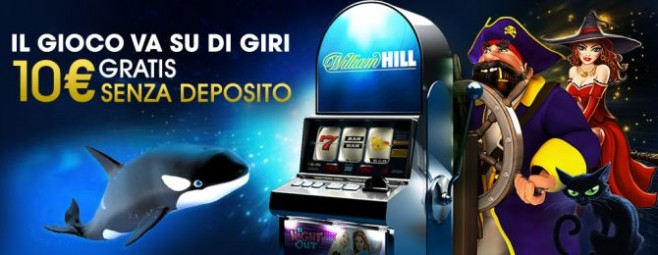 william hill 10 euros gratis casino
