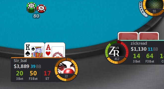 Poker hud aggression factor