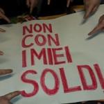 """""""Non con i miei soldi"""" è un'iniziativa di Banca Etica per una finanza trasparente"""