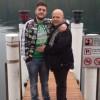 Umberto Calabrese e il papà