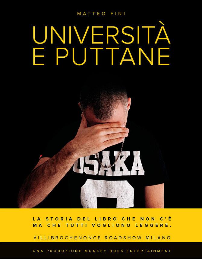 La locandina del roadshow di Matteo Fini, che riprende la copertina del libro stesso