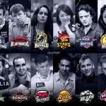 Loghi e manager di ciascuno dei 12 team (courtesy of CardPlayer Brasil)