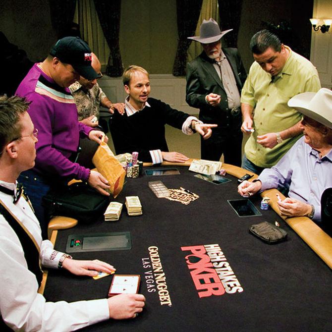 Uno scatto dalla prima stagione di High Stakes Poker