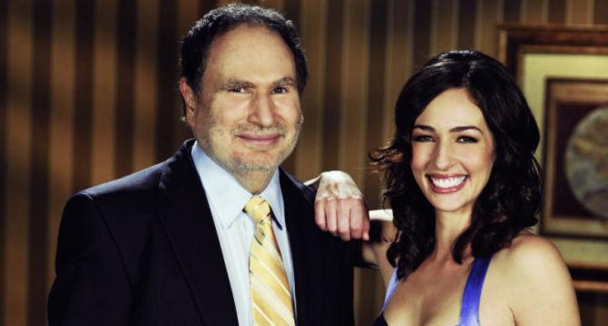 Kara con Gabe Kaplan