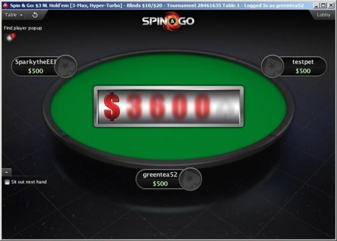 Uno Spin&Go su Pokerstars.com
