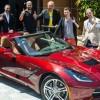 La Corvette in palio per il vincitore