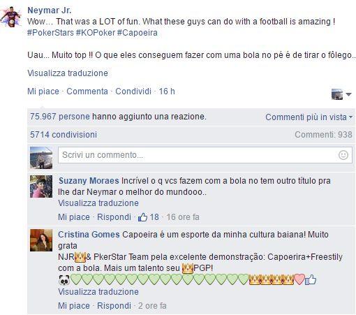 neymar facebook